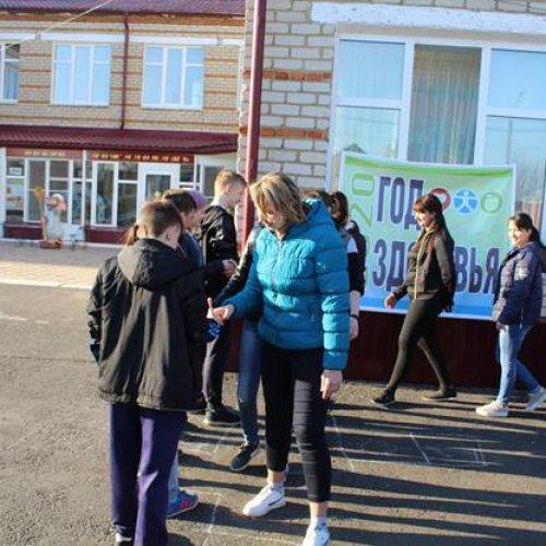Турнир по волейболу между воспитанниками и сотрудниками Центра